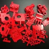 Druk 3D części do budowy drukarki 3D