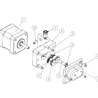 projektowanie cad poznań, biuro konstrukcyjne, części do drukarki 3d, ekstruder, głowica